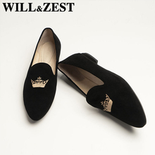 Woman Flats Loafers Moccasins Womens Playform Designer Slip-On-Shoes Ballet Vintage Female