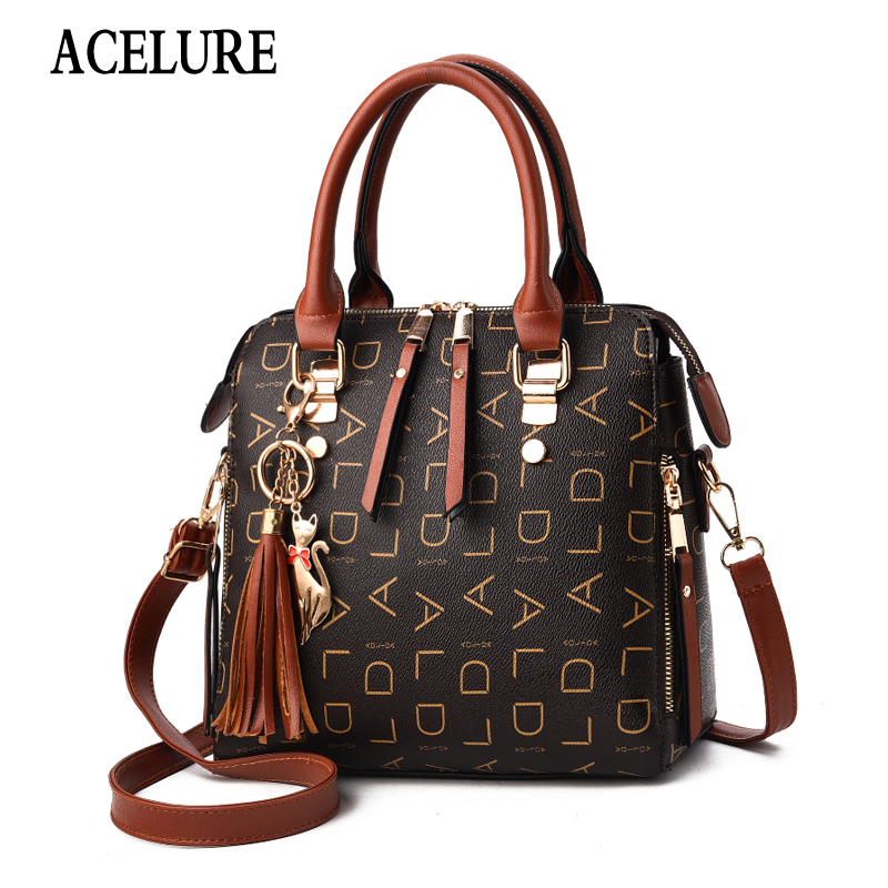 Vintage Women Crossbody Shoulder Bag Retro Casual Female Causal Big Capacity Totes Handbags Messenger Shoulder Bags ACELURE