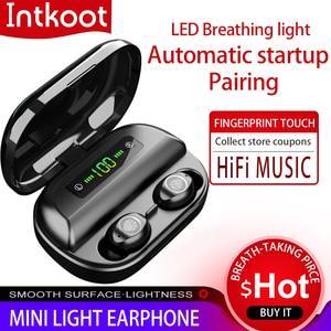 Image 1 - Оригинальные наушники Bluetooth, беспроводная гарнитура TWS V12, новые беспроводные наушники 4000 мАч, зарядная коробка для игр с водонепроницаемым IPX5