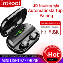 Original Earphone Bluetooth Wireless headset  TWS V12 wireless earbuds NEW 4000mAh Charging Box for Games with IPX5 Waterproof