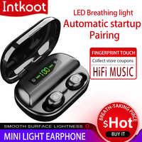 Original Kopfhörer Bluetooth Wireless headset TWS V12 drahtlose ohrhörer NEUE 4000mAh Lade Box für Spiele mit IPX5 Wasserdicht
