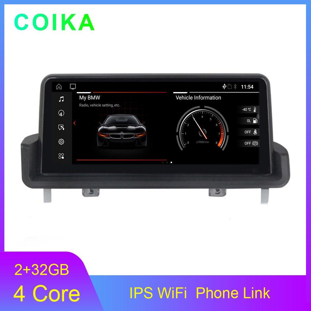 """10.25"""" IPS Screen Car GP Navi Stereo For BMW E90 E91 E92 E93 Android 10.0 System BT SWC Google AUX 2+32G RAM Multimedia Player"""