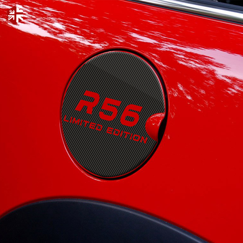Car Fuel Tank Cap Sticker 5D <font><b>Carbon</b></font> Vinyl Decoration Decal For <font><b>MINI</b></font> Cooper R60 R59 R58 R57 R56 R55 <font><b>R53</b></font> F60 F55 F56 Accessories image