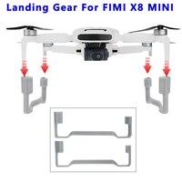 Erhöhung Fahrwerk für FIMI X8 Mini Erweitert Unterstützung Bein Landung Füße für FIMI X8 Mini Drone Zubehör