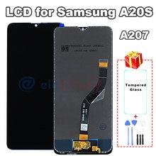 ЖК экран для samsung galaxy a20s a207 дисплей премиум качества