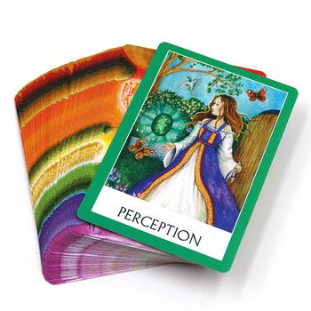 2021 Chakra mądrość karty wyrocznia talii 49 kart angielski tarot karty wskazówki wróżbiarstwo fortune gra planszowa tanie i dobre opinie CN (pochodzenie) Chakra wisdom oracle
