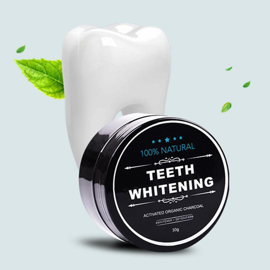 Yellow Teeth Whitening Powder Natural Activated Charcoal Powder with Activated Coconut Shell Charcoal Teeth Whitening Toothpaste 2
