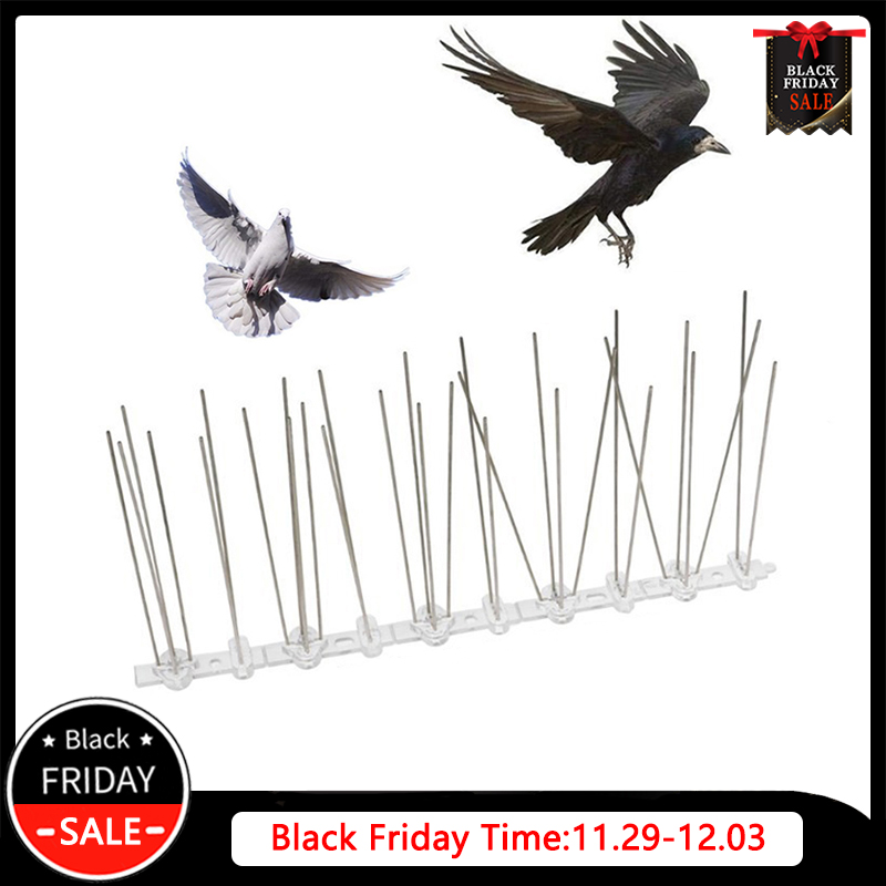 Hot Selling 9M Plastic Bird And Pigeon Spikes Anti Bird Anti Pigeon Spike For Get Rid Of Pigeons And Scare Birds Pest Control