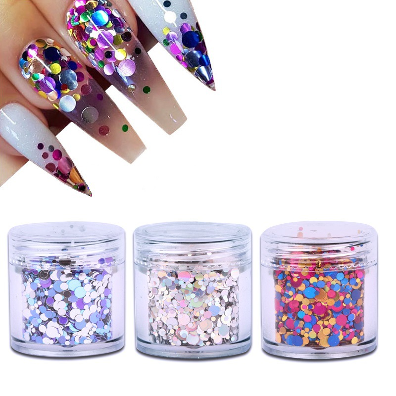 10ml Canned Nail Art Mixed Small Round Sequin Decoration Diy Nail Supplies Materials Colorful Dots Nail Art Decoration Hot Discount 60cad7 Cicig