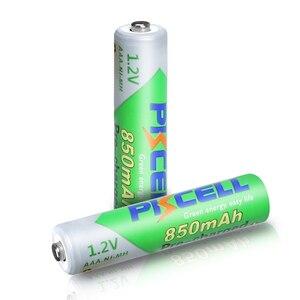 Image 3 - PKCELL pil AAA 850mah 1.2V NIMH AAA şarj edilebilir pil ön şarj düşük kendini deşarj aaa piller için kamera el feneri