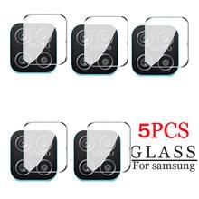 Protector de cristal templado para lente de cámara de Samsung Galaxy, Protector de pantalla trasera de cristal templado para Samsung Galaxy A12 A02s M21s M02s M31 F41 S21 Plus Ultra A42 5g, 5 uds.