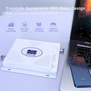 Image 2 - GOBOOST 70dB GSM משחזר 2G 3G 4G מגבר אות 900 1800 2100 Tri Band מגבר נייד LTE 2600 נייד טלפון מגבר סט
