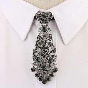 Men Accessories Wine Neckties-Trendy Wedding-Ceremony Luxury Tie Metal Korean Fashion