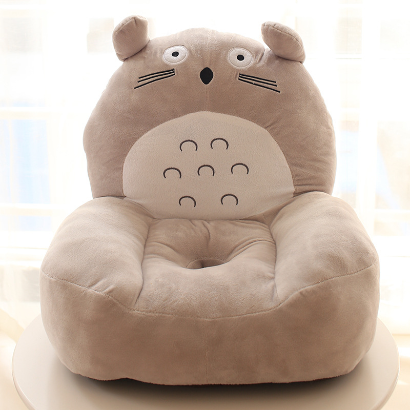 Cute Children's Sofa Cartoon Cushion Lazy Small Seat Kindergarten Plush Small Sofa Chair Removable And Washable Baby Seat