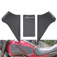 Motorrad Protector Anti Slip Tank Pad Aufkleber Gas Knie Grip Traktion Seite Aufkleber für Benelli Leoncino 500 BJ500-in Autoaufkleber aus Kraftfahrzeuge und Motorräder bei