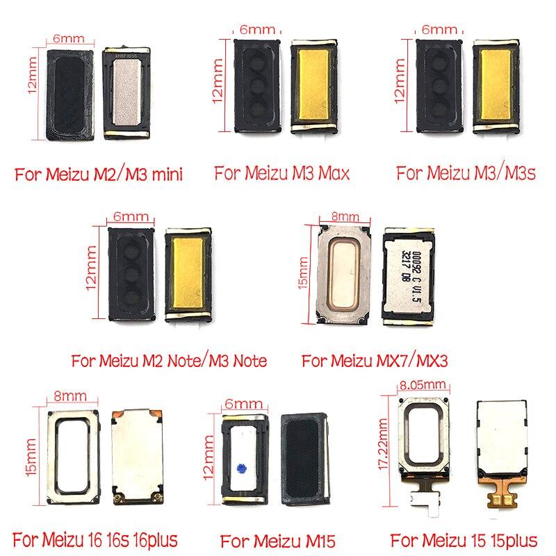 2Pcs/Lot,Earpiece Ear Speaker Sound Receiver Flex Cable For Meizu Pro 6 Plus MX6 MX5 MX4 Pro M3 Max