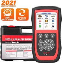 Autel MaxiCheck Pro OBD2 סריקה אבחון כלי, עם ABS בלם דימום SRS כרית אוויר, שמן איפוס, SAS, EPB, BMS רכב ספציפי