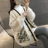DANJEANER Women V Neck Cardigan AutumnWinter Long Knitted Loose Sweaters with Pockets Oversize Pull Femme Warm Jackets
