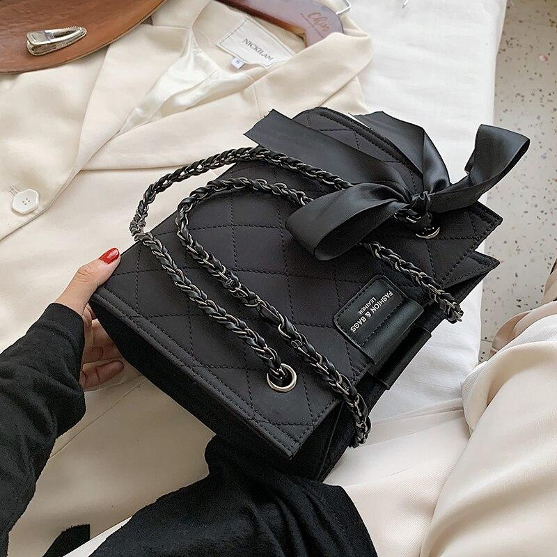 Купить с доставкой сладкий цепь дизайн маленькая сумка из искусственной