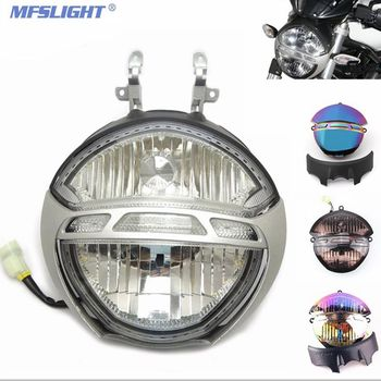 Motorcycle Headlight Headlamp Bracket Fog Light for Ducati Monster 696 659 795 796 1000 1100S Motorbike Headlight Assembly motorcycle front brake clutch fluid reservoir cover for ducati monster 696 monster 795 monster 796