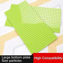 Large Size 51x25.5cm Baseplate Big Base Plate 512 Dots Exlarge Bricks Wall DIY Toys Compatible Duplo Toys For Child Kids