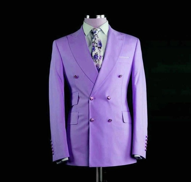 New-Arrival-Pink-Mens-Suits-Groomsmen-Wedding-Slim-Fit-Tuxedos-For-Men-Custom-Made-Prom-Suit