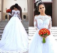 Bohemian Vintage Appliqued Lace Country Wedding Dresses Elegant A Line Boho Garden Bridal Gowns Buttons Back Vestidos De Novia