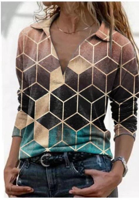 Aprmhisy Graphic Shirts Women Autumn New Long Sleeve Casual Streetwear Blouse Shirt Blusas Femininas 8