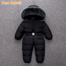 Clothing Coat Snowsuits Outerwear Down-Jacket Baby-Girl Winter Thicken Boy Clothes-30-Degreerussian