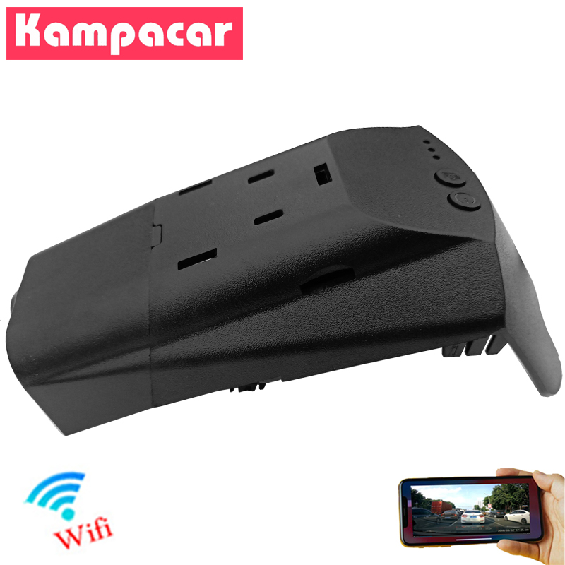 Kampacar Novatek 96658 Wifi Car Dvr <font><b>Dash</b></font> <font><b>Cam</b></font> Camera For Volvo XC40 XC 40 4 Wheel Drive 2018 <font><b>2019</b></font> Auto Car Dvrs Dual <font><b>Dash</b></font> Cameras image