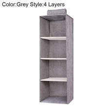 Drawer Shelves Hanging Wardrobe Organizer Storage Box Shoes Clothes For Bedroom AIA99