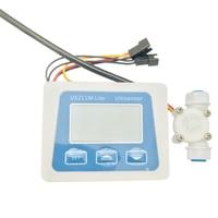US211M Lite USN HS06PE 0.3 3.0L/Min Digital Flow Meter Flow Reader Compatible with All Our Hall Effect Water Flow Sensor Saie|Flow Meters| |  -