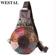 Westal сумки через плечо для женщин нагрудная сумка на ремне