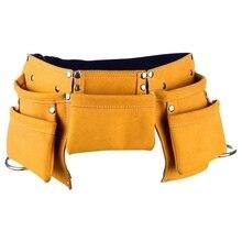 Kinder Werkzeug Gürtel Kind der Werkzeug Tasche Arbeits Werkzeug Tasche Hammer Halter Taille Tasche mit 5 Taschen für Kinder
