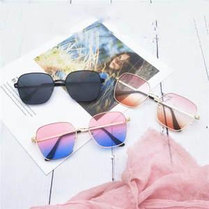 Polygon Sunglasses Goggle Gafas-De-Sol Octagon Men Vintage Ladies Women Luxury Brand