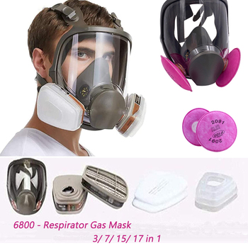 Anti-Fog 6800 Full Face Respirator Gas Mask Industrial Painting  Spraying Respirator Safety Work Filter Formaldehyde protection high quality respirator gas mask modular strengthen protection protective mask painting pesticide industrial safety gasmaske