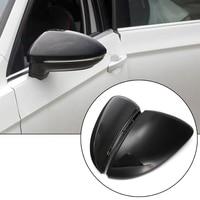 2 pçs carro esquerda e direita espelho retrovisor capa para volkswagen golf 7|Capa p/ espelho retrovisor| |  -