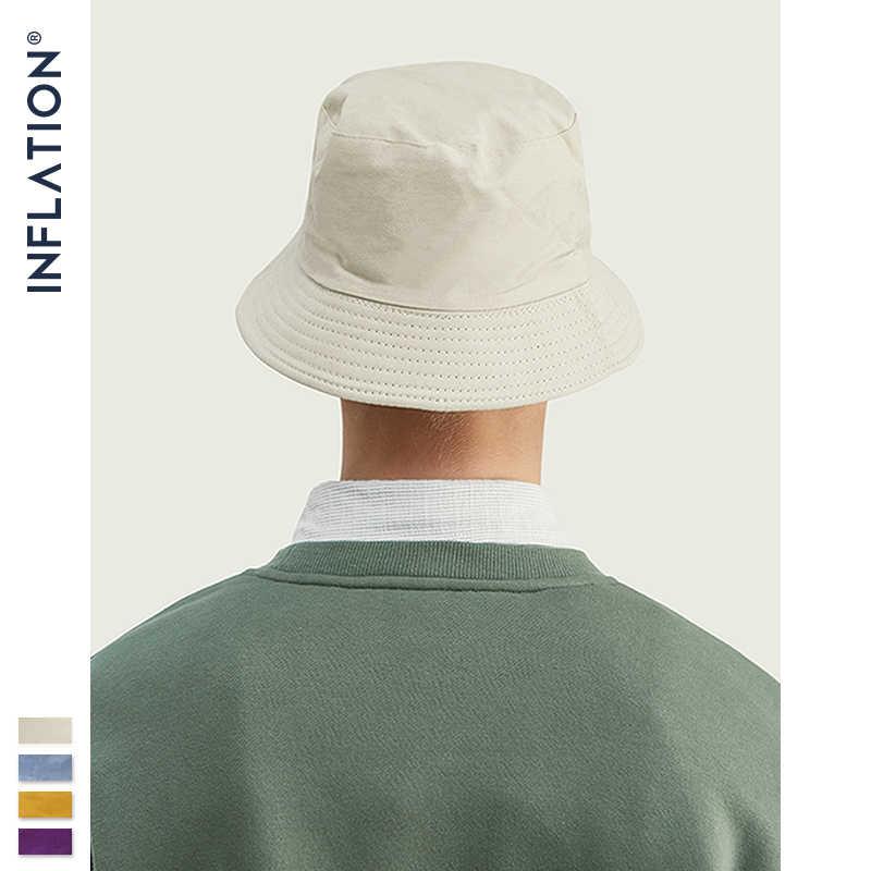 Инфляция 2019 мужская хлопковая летняя Панама Панамка рыбака мужские хип хоп в японском стиле пары ведро шапки 154CI2019