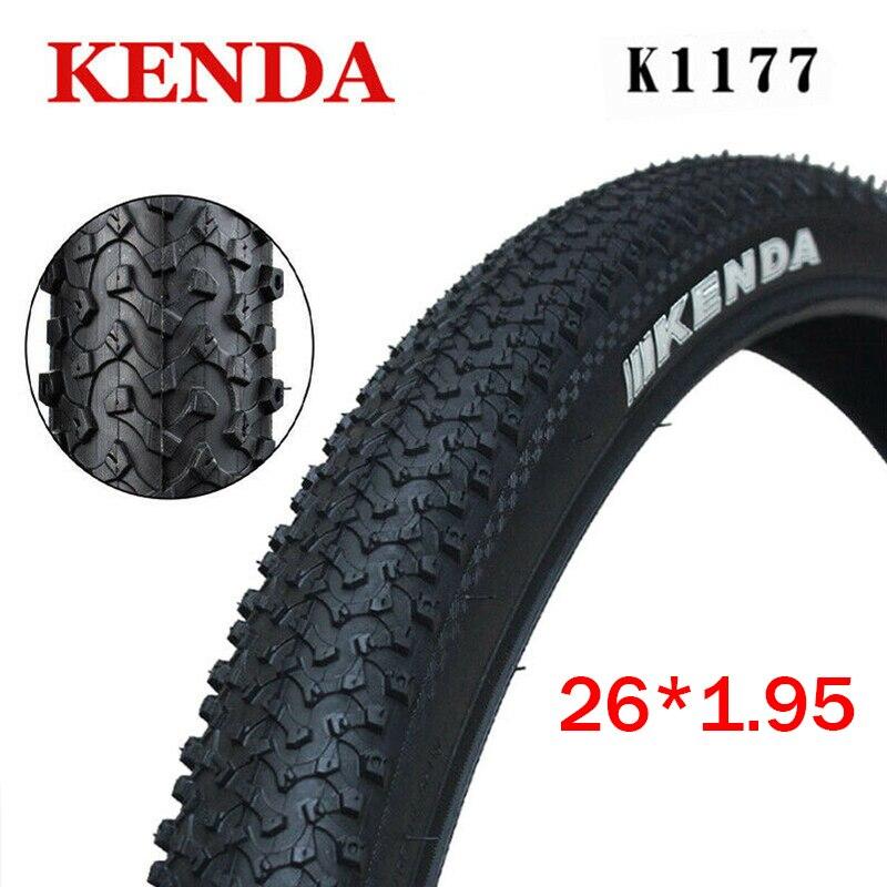 Велосипедная шина KENDA 26*1,95 MTB K1177 26*1,95 шина 65PSI дренажная Нескользящая шина не Складная велосипедные шины велосипедные запчасти