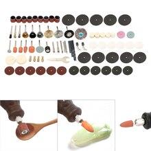 NICEYARD 75 шт./компл. аксессуары для электроинструмента электрический шлифовальный инструмент для Dremel набор аксессуаров для вращающегося инструмента дрель шлифовка полировка