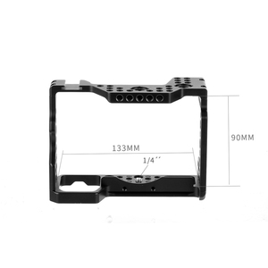Image 2 - Aluminum QR  Handheld Camera Cage For Sony A7RIII/A7III/A7MIII SLR DSLR Mount Tripod Bracket Photography Extension Kit