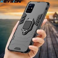 KEYSION custodia antiurto per Samsung A51 A71 A31 A52 A72 Cover per telefono per Galaxy S20 Ultra S10 Lite Note 10 Plus A50 A70 A12 A21S