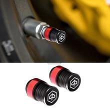 Para piaggio vespa mp3 zip fly px x8 x9 sprint primavera gts motocicleta roda de pneus tampas da válvula capa cnc