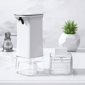 Image 5 - Youpin enchen indução automática de espuma máquina lavar mão conjunto dispensador sabão 0.25s sensor infravermelho 2 engrenagem ajustável