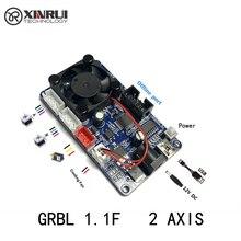 Grbl 2 eixos placa de controle diy máquina gravação a laser acessórios apoio offline controle