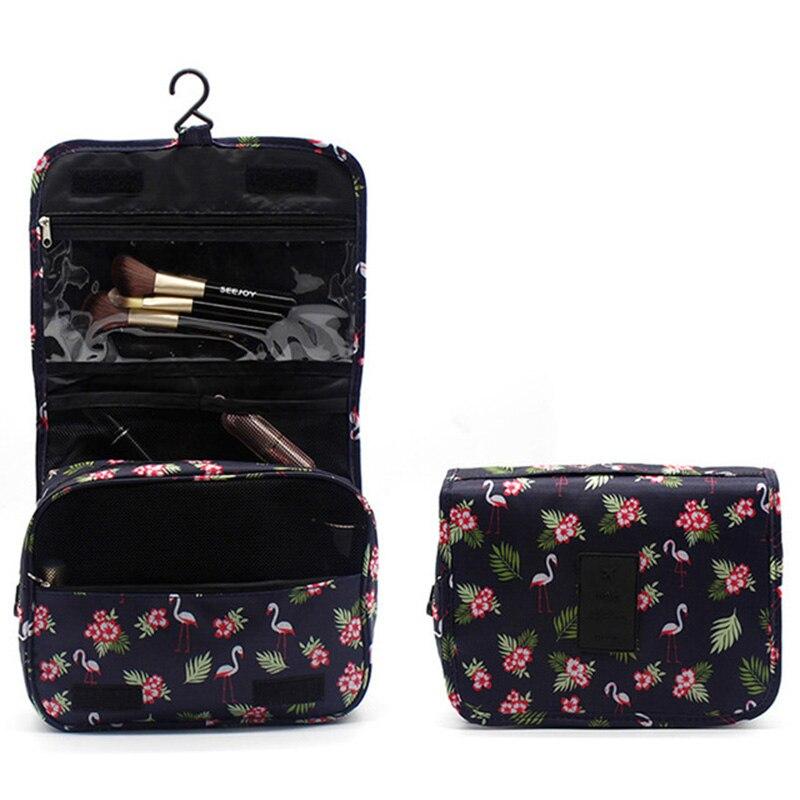 New Make up bag hook cosmetic Organizer Large wash bag Neceser travel storage bag косметичеа Make up Cases(China)