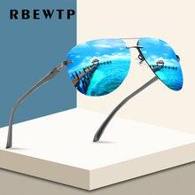 RBEWTP, новинка, оправа из сплава, Классические мужские солнцезащитные очки для вождения, поляризационное покрытие, зеркальная оправа, очки, авиационные солнцезащитные очки для женщин
