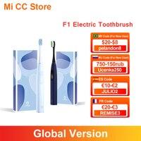 Oclean-cepillo de dientes eléctrico para adultos modelo F1, dispositivo dental ultrasónico resistente al agua IPX7, con 3 modos, versión Global