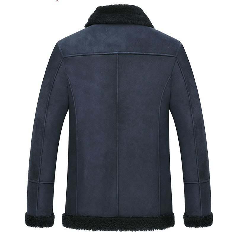 Real Fur Coat Men Sheep Shearing Winter Jackets Mens Wool Coats Korean Fashion Plus Size Jacket Veste Homme M12D06005L YY842