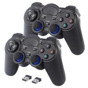 Image 2 - ラズベリーゲームパッド2.4グラムワイヤレスゲームコントローラgamestickジョイスティックラズベリーパイ4/pc/アンドロイド/tvボックスretroflag nespi retropie